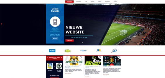Lancering nieuwe website Sportbeat door Digital Competitive